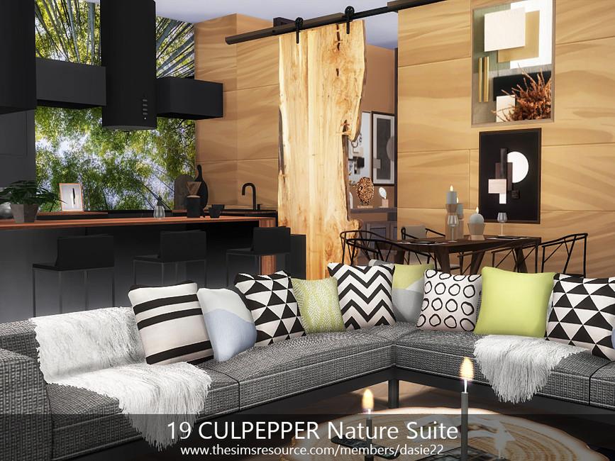 Квартира 19 CULPEPPER Nature Suite Симс 4 (картинка 2)
