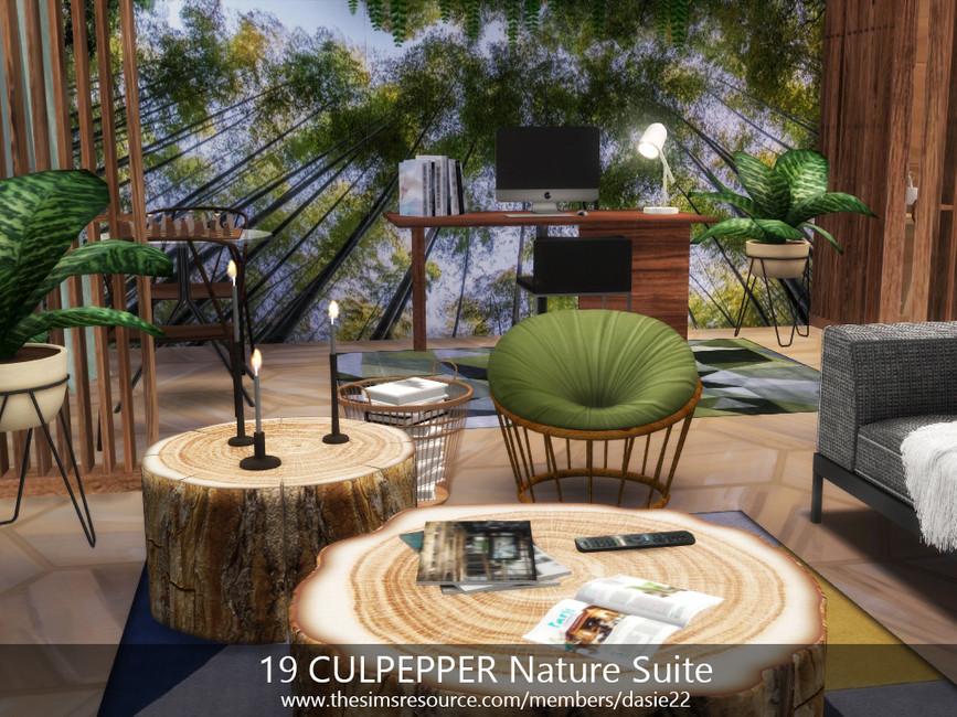 Квартира 19 CULPEPPER Nature Suite Симс 4 (картинка 4)