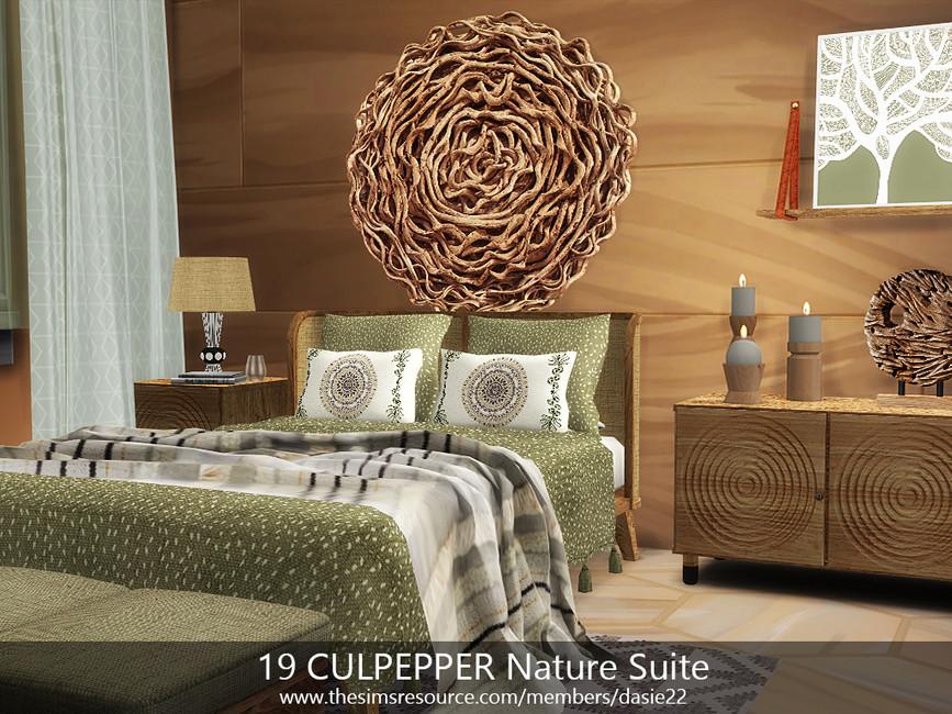 Квартира 19 CULPEPPER Nature Suite Симс 4 (картинка 5)
