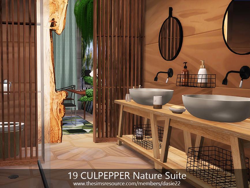 Квартира 19 CULPEPPER Nature Suite Симс 4 (картинка 6)