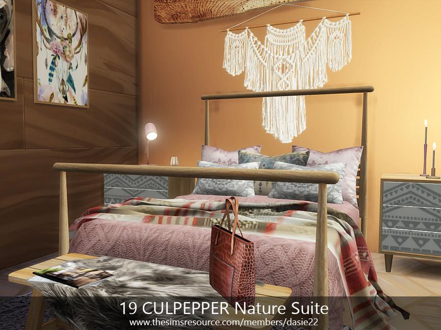 Квартира 19 CULPEPPER Nature Suite Симс 4 (картинка 7)