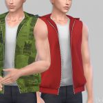 Моды мужские толстовки Симс 4