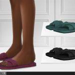 Моды тапочки для Симс 4