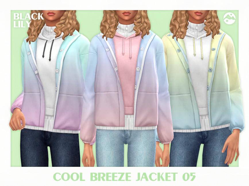 Моды женские куртки Симс 4