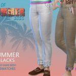 Мужские брюки Summer Slacks Симс 4