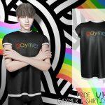 Мужские футболки PRIDE Gaymer T-shirt VIP27 Симс 4