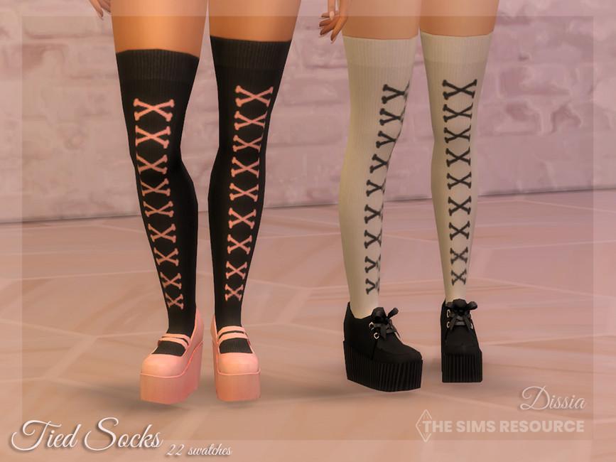 Носки Tied Socks Симс 4