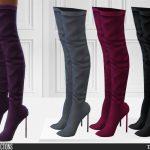 Обувь 716 - Boots Симс 4