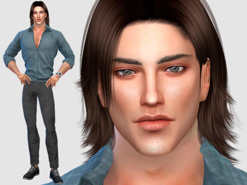 Персонажи мужчины Симс 4