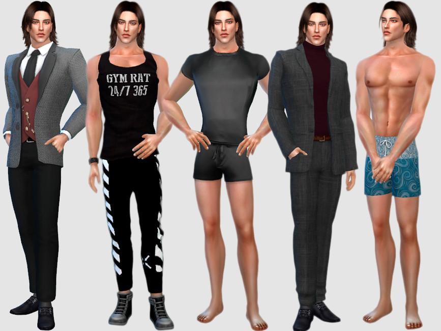 Персонажи мужчины Симс 4 (картинка 2)
