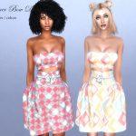 Платье Summer Bow Dress Симс 4