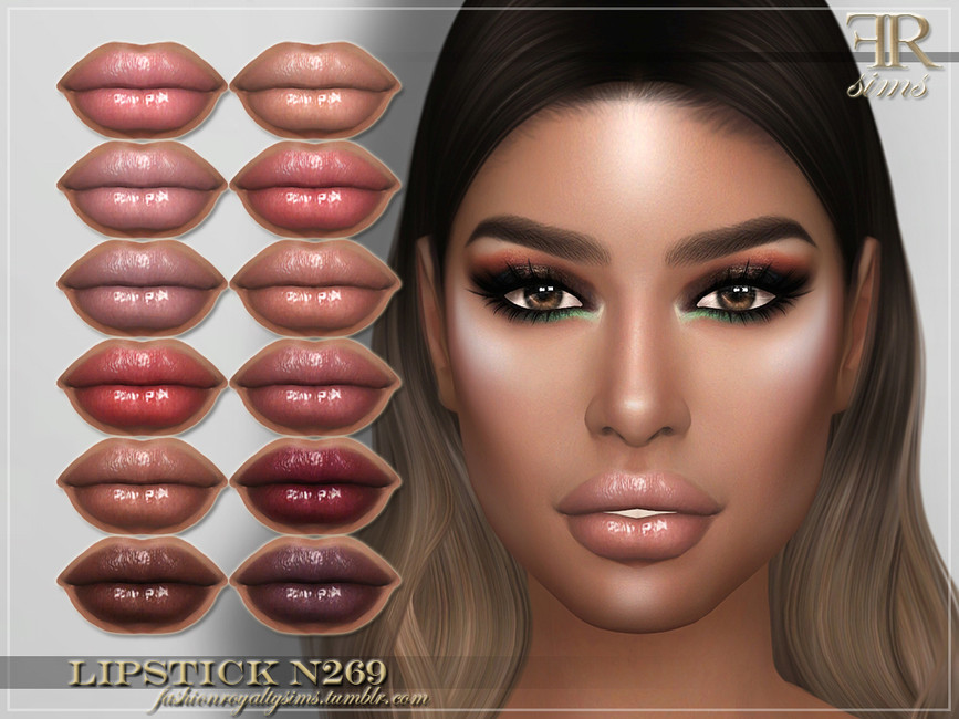 Помада для губ FRS Lipstick N269 Симс 4