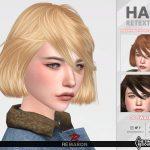 Прическа Cosima Hair Симс 4