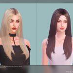 Прическа Female Hair G55 Симс 4