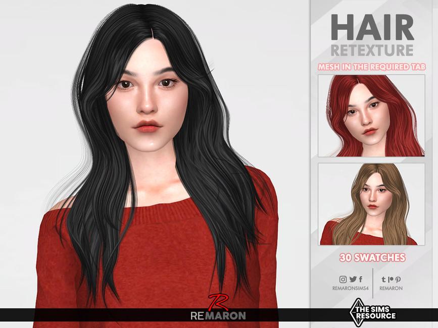 Прическа Tessa Hair Retexture Mesh Needed Симс 4