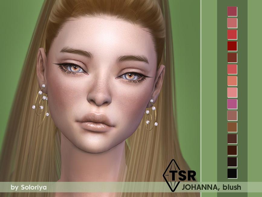 Румяна на нос и щеки Blush Johanna Симс 4