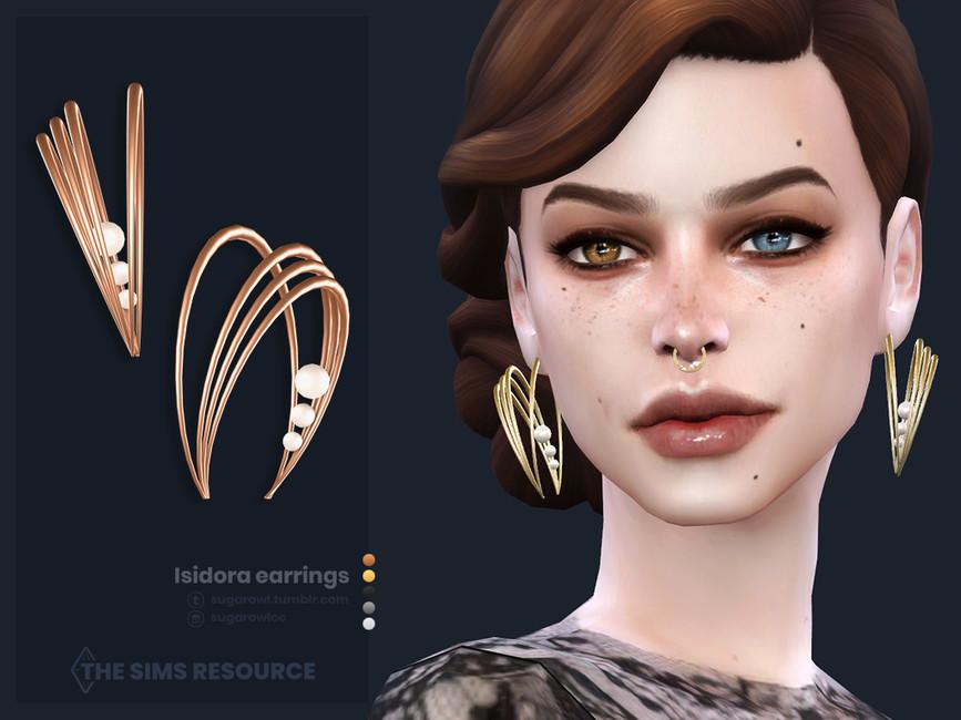 Сережки Isidora Earrings Симс 4