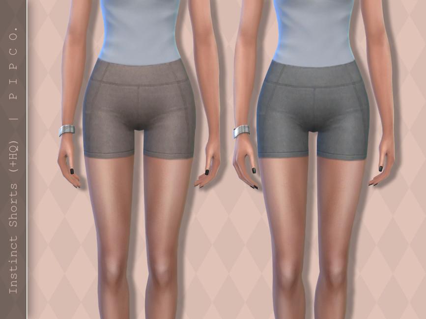 Шорты Instinct Shorts Симс 4