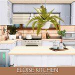 Современная кухня Симс 4