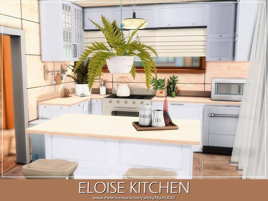 Современная кухня Симс 4 (картинка 2)