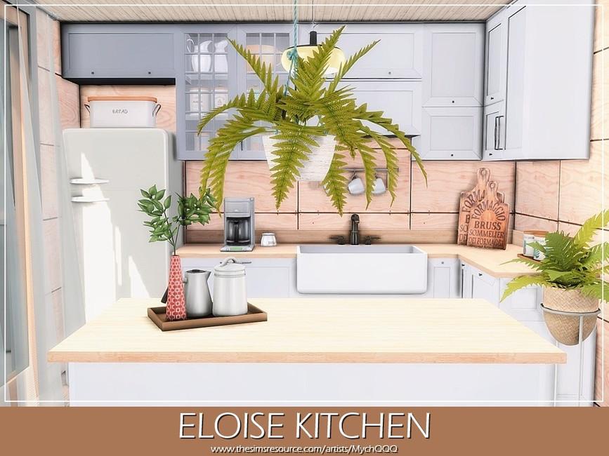 Современная кухня Симс 4 (картинка 3)