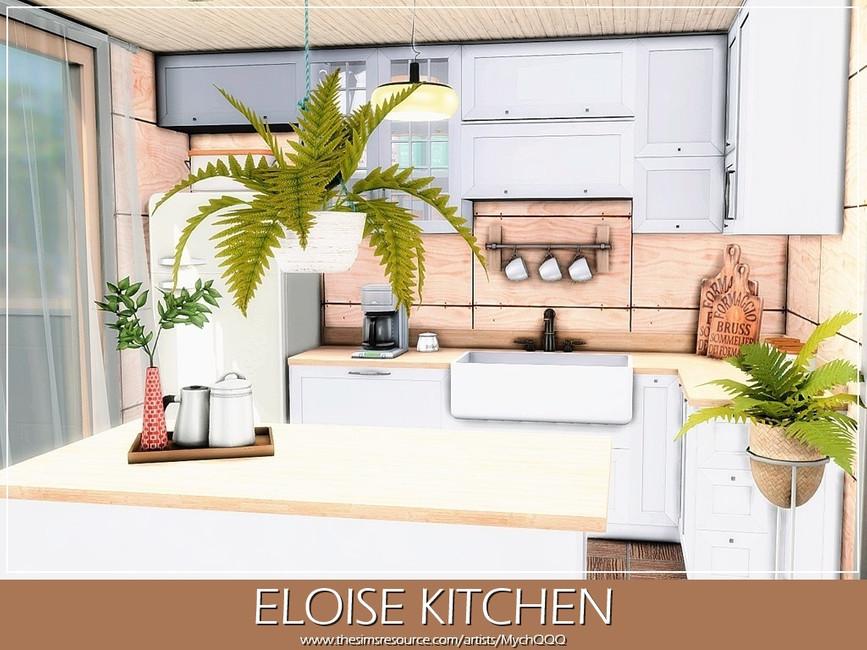 Современная кухня Симс 4 (картинка 4)