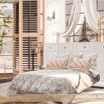 Спальня Anastasia Bedroom Симс 4