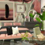 Спальня Miss Poppy Симс 4