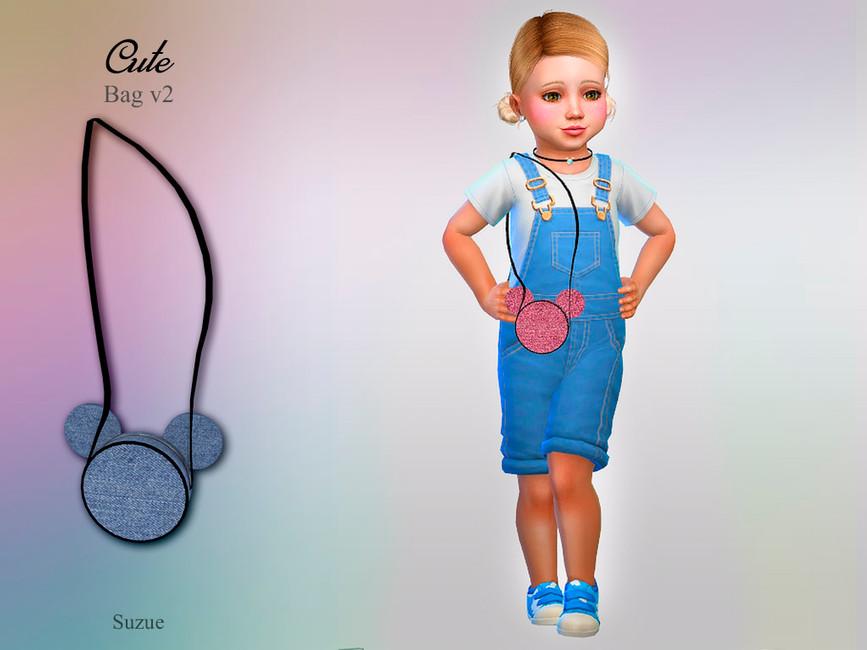 Сумка Cute Bag v2 Toddler Симс 4