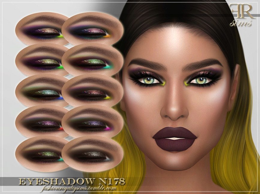 Тени для век FRS Eyeshadow N178 Симс 4