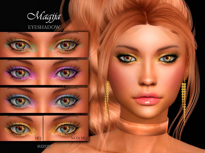 Тени для век Magija Eyeshadow N11 Симс 4