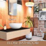 Ванная Eloise Bathroom Симс 4
