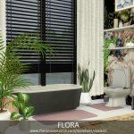 Ванная FLORA Симс 4