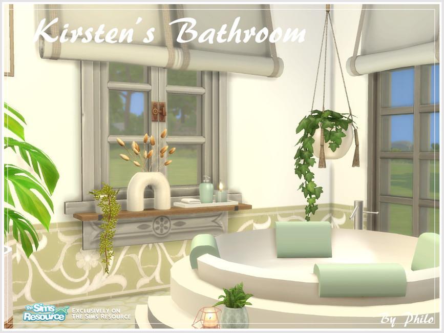 Ванная Kirsten's Bathroom Симс 4
