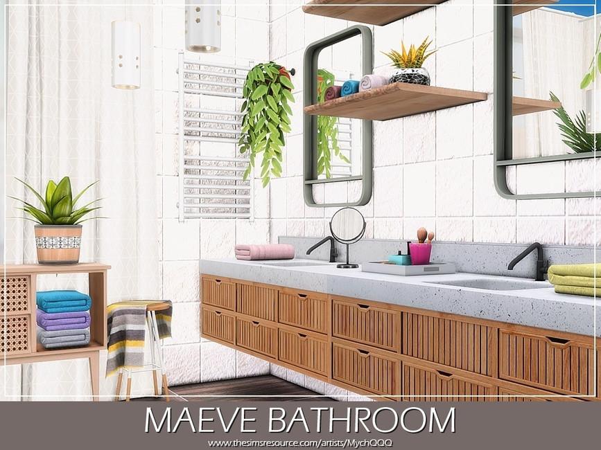 Ванная Maeve Bathroom Симс 4