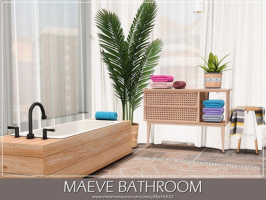 Ванная Maeve Bathroom Симс 4 (картинка 2)