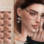 Веснушки Magna Freckles Симс 4