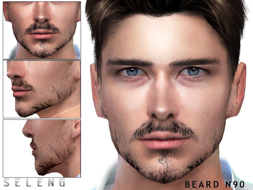 Борода Beard N90 Симс 4