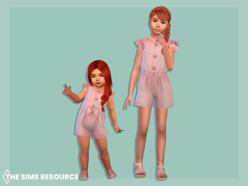 Комбинезон для детей для Симс 4 (картинка 2)