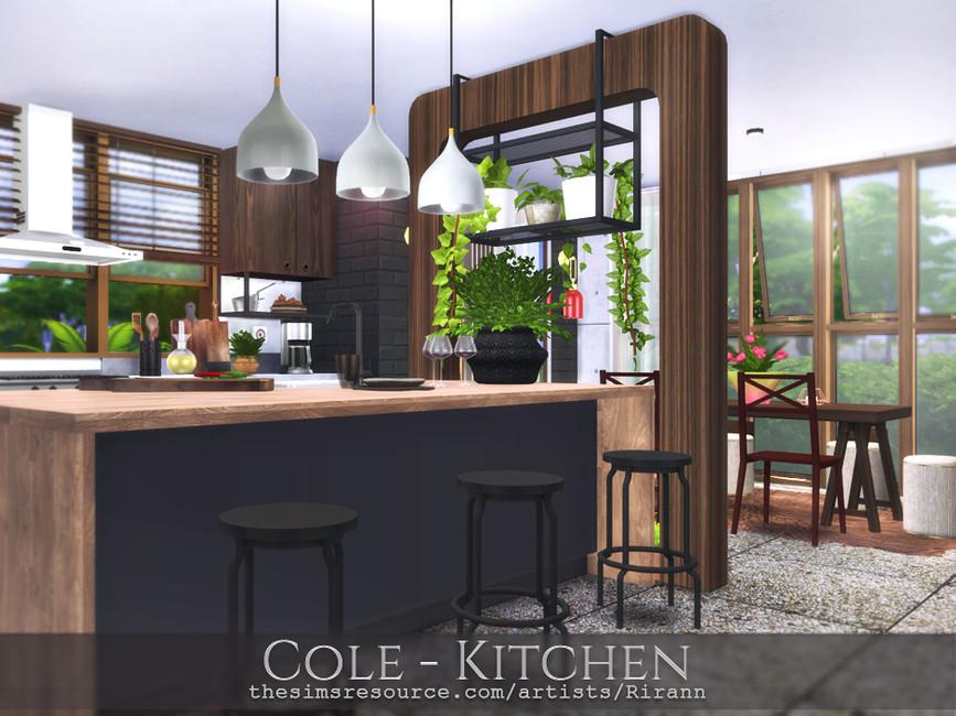 Кухня Cole - Kitchen Симс 4
