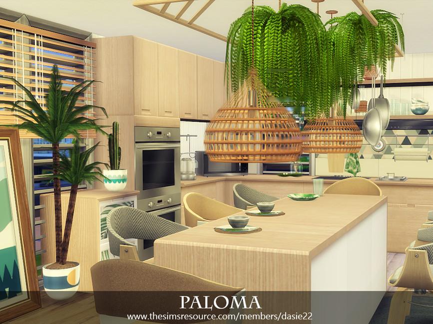 Кухня PALOMA Симс 4