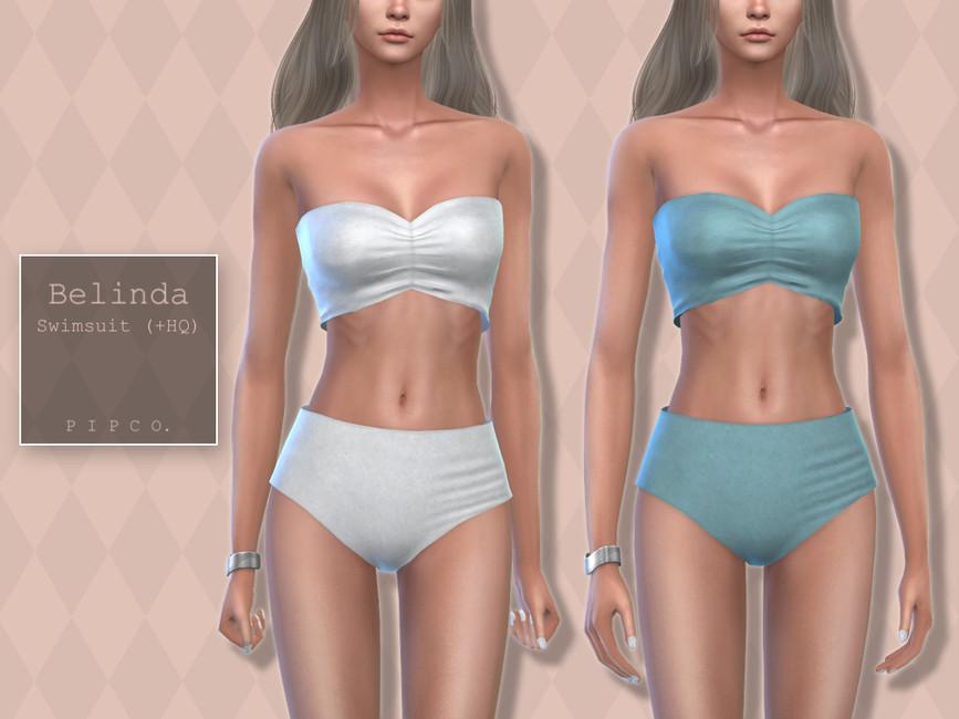 Купальник Belinda Swimsuit Симс 4