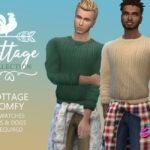 Набор мужской одежды для Симс 4