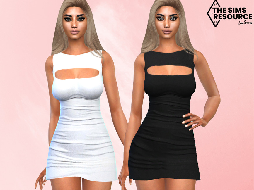 Платье Classy Formal and Casual Dresses Симс 4