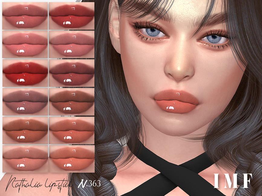 Помада для губ IMF Nathalia Lipstick N363 Симс 4
