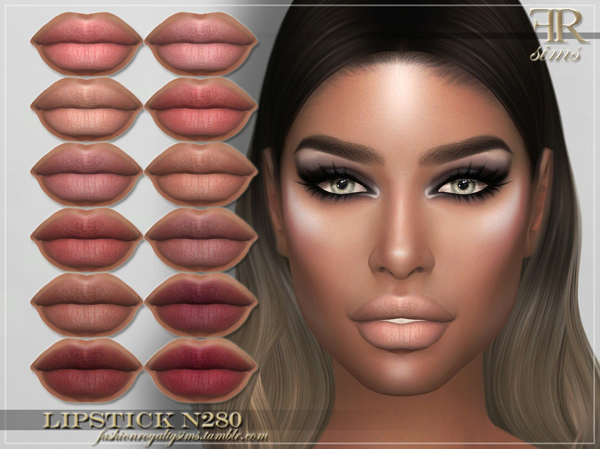 Помада FRS Lipstick N280 Симс 4