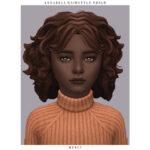 Прическа Annabell Hairstyle - Child Симс 4