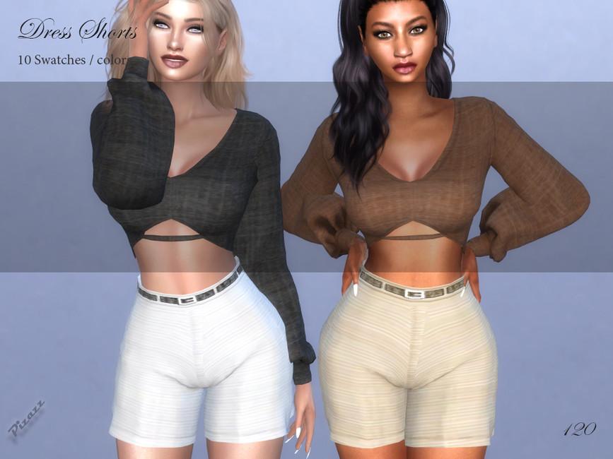 Шорты Dress Shorts Симс 4