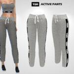 Штаны Active Pants Симс 4