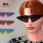 Солнцезащитные очки Bug Sunglasses Симс 4